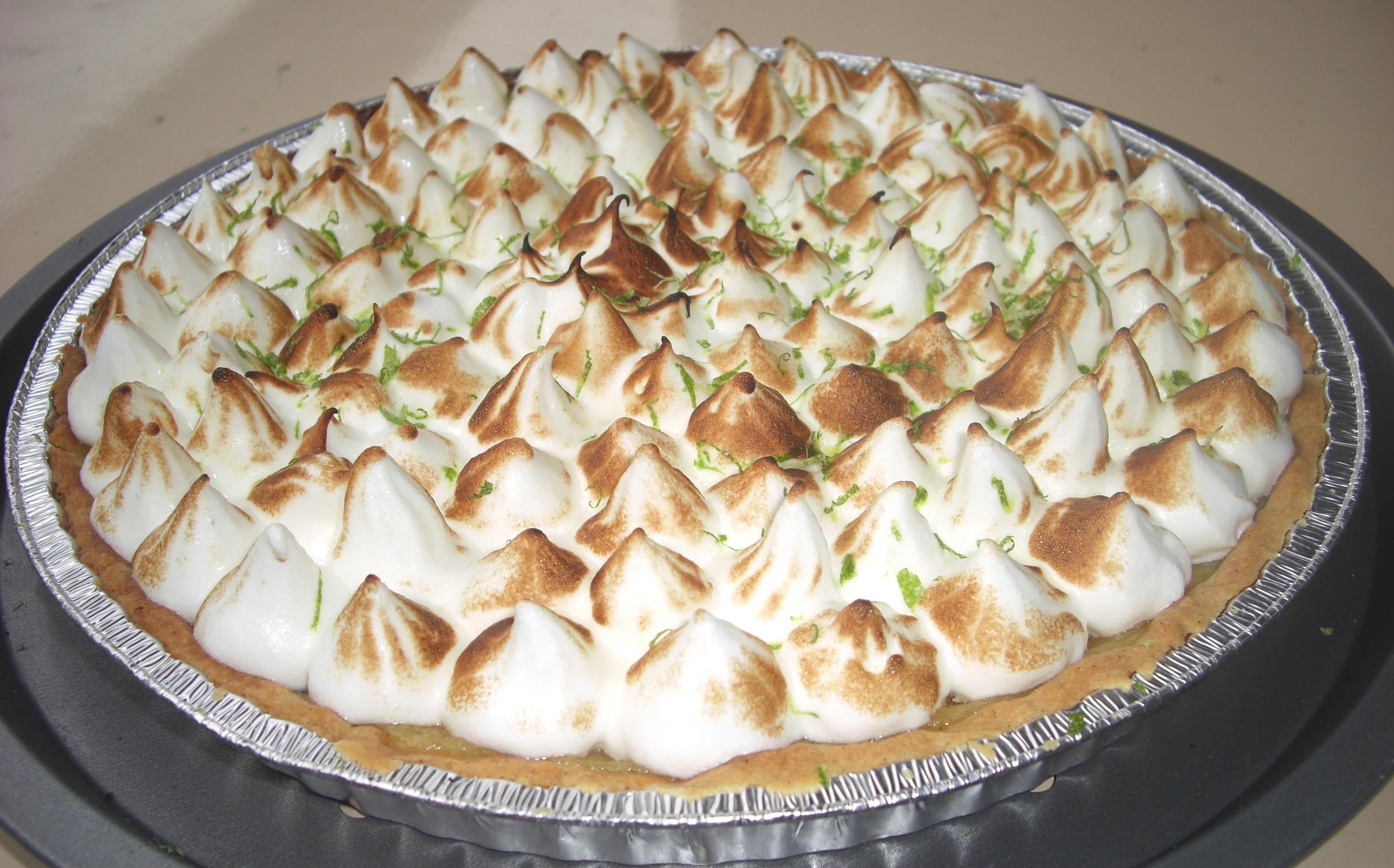 Tarte au citron meringu e gg cuisine - Tarte au citron meringuee herve cuisine ...