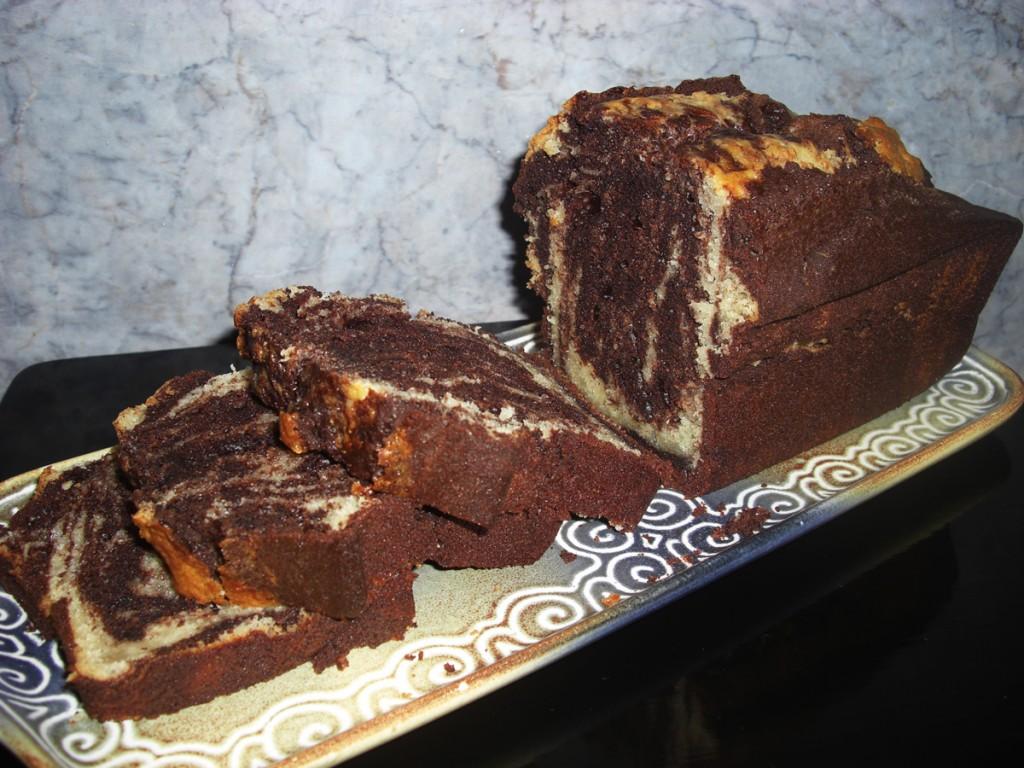 Marbré chocolat-tonka