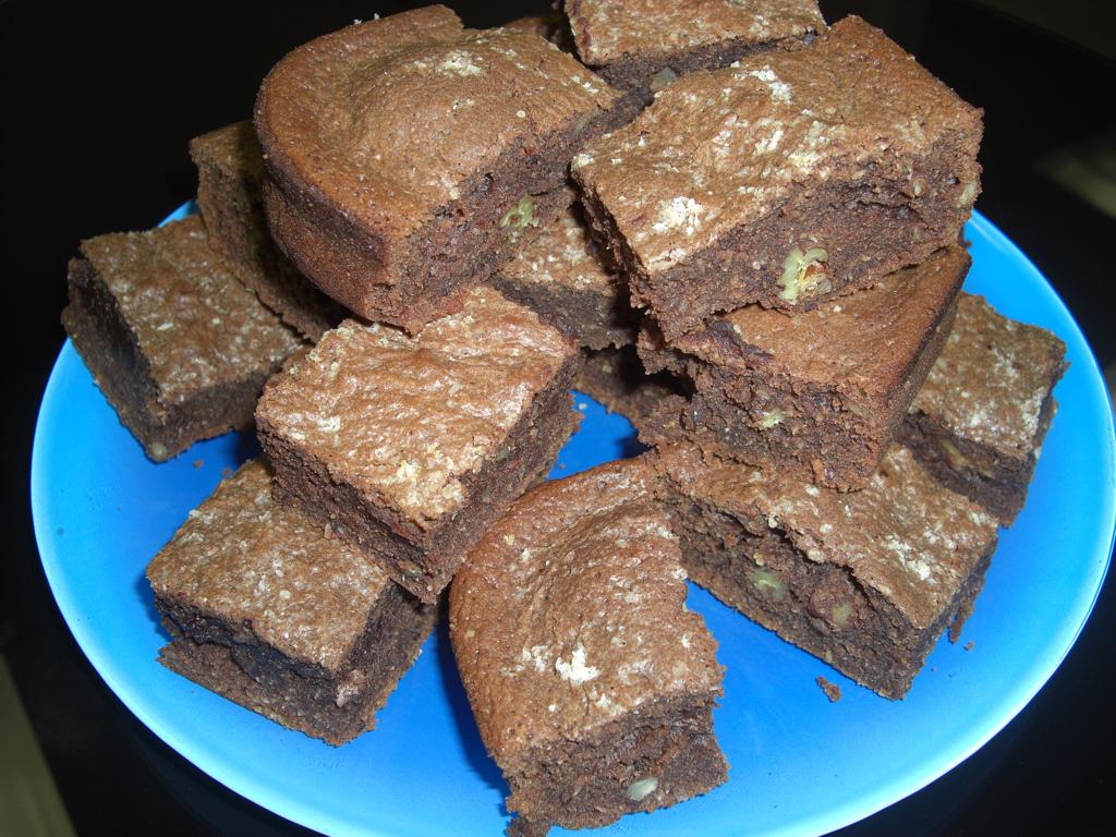 Brownie chocolat coco