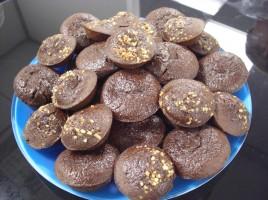 Financiers au chocolat et à la fève de tonka