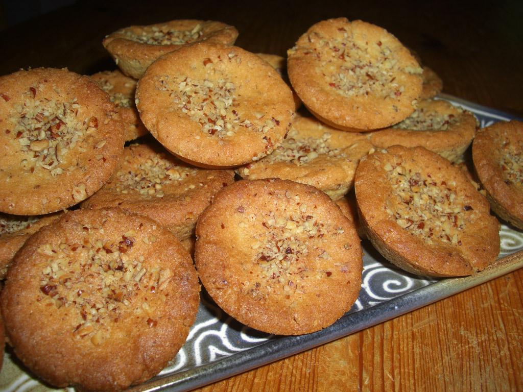 Sablés bretons aux noix de pécan