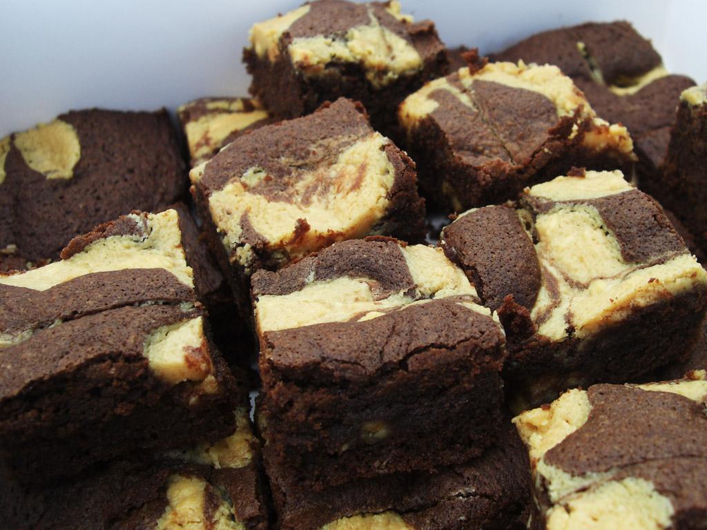 Brownie au beurre de cacahuete